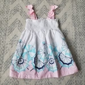 Janie and Jack baby girl 12-18 month dress/coverup
